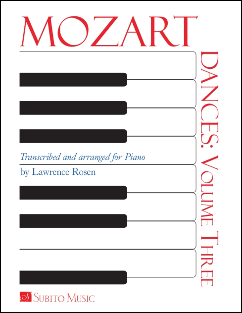Dances: Volume 3 for Piano