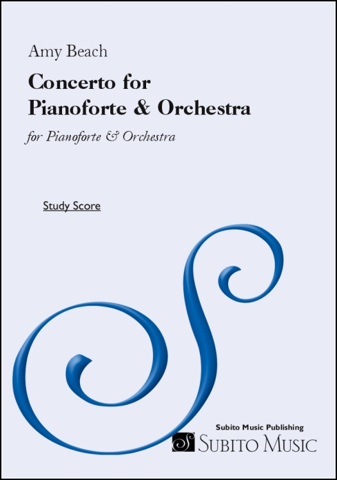 Concerto for Pianoforte & Orchestra