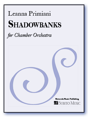 Shadowbanks for Chamber Orchestra