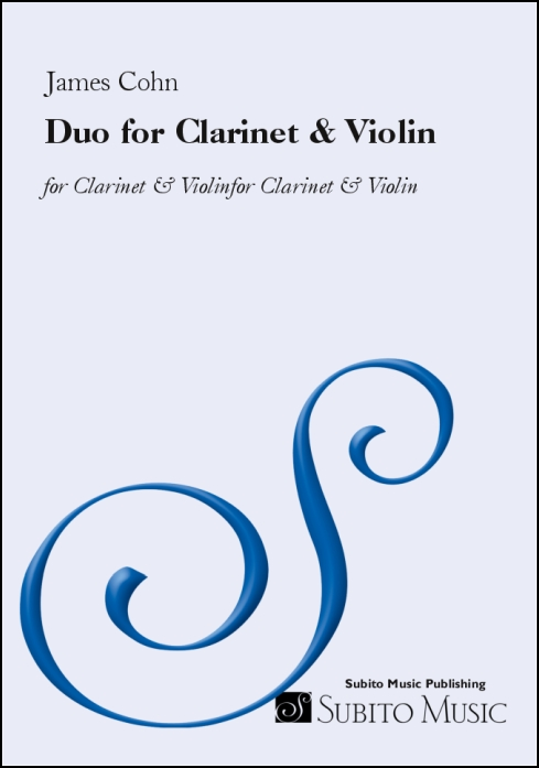 Duo for Clarinet & Violin for Clarinet & Violin