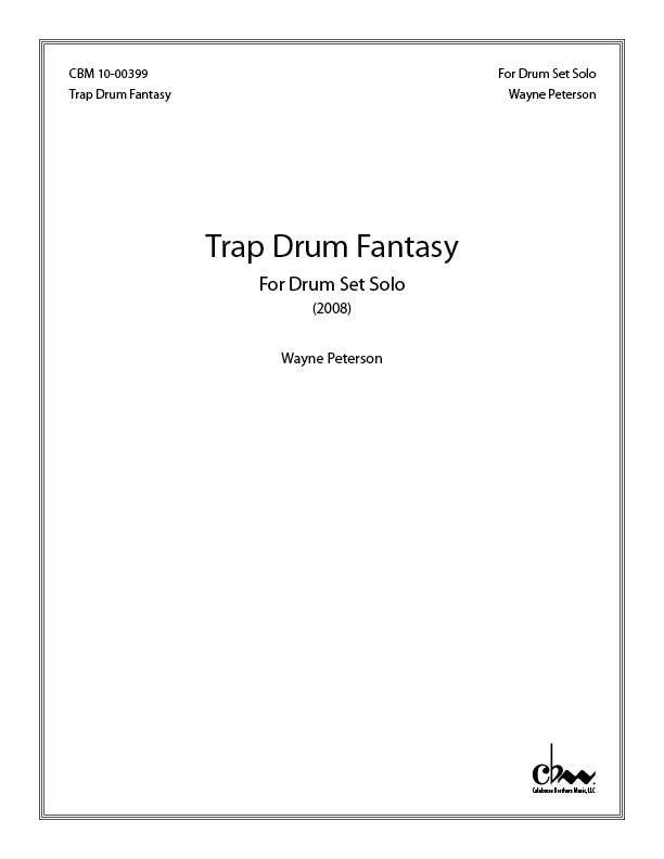 Trap Drum Fantasy for Drum Set