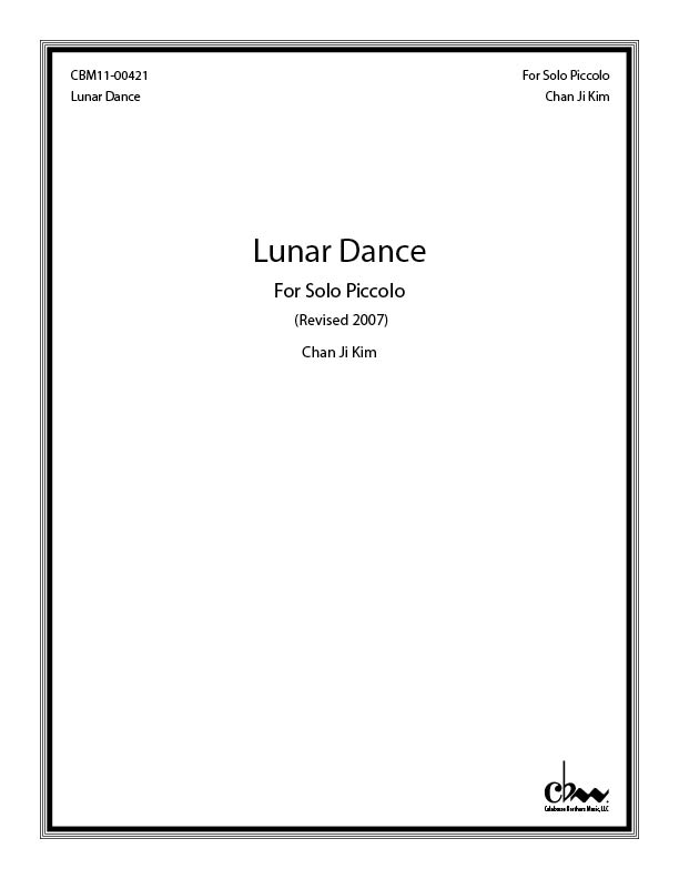 Lunar Dance: For Piccolo for Piccolo