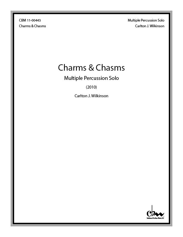 Charms & Chasms for Percussion Solo