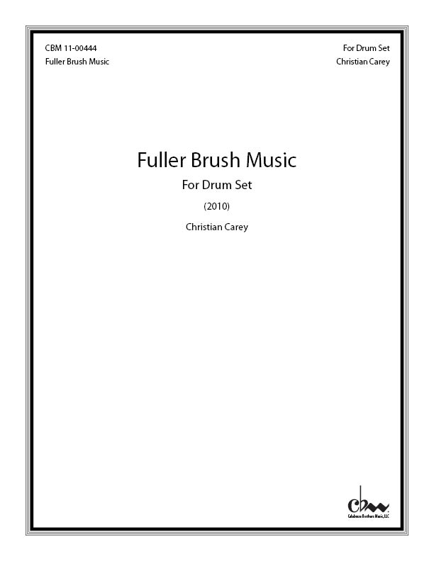Fuller Brush Music for Drum Set