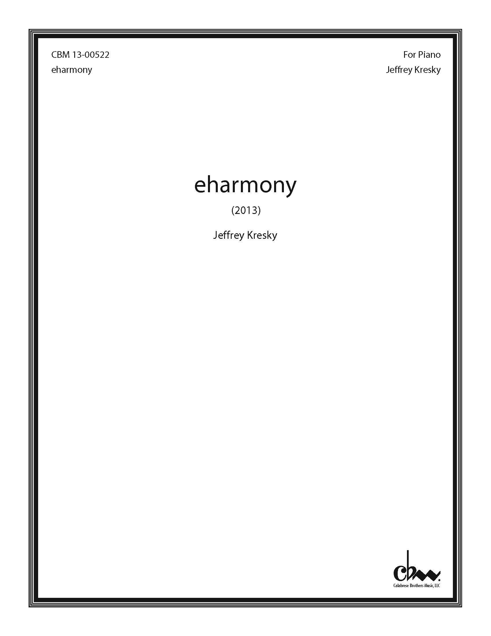 eharmony for Piano