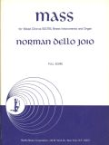 Mass (full score) for SATB, Brass and Organ