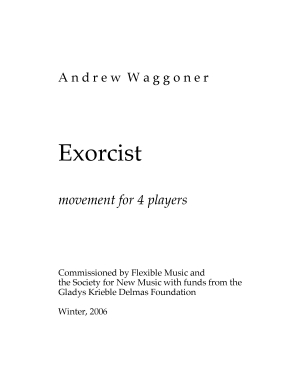 Exorcist movement for 4 players