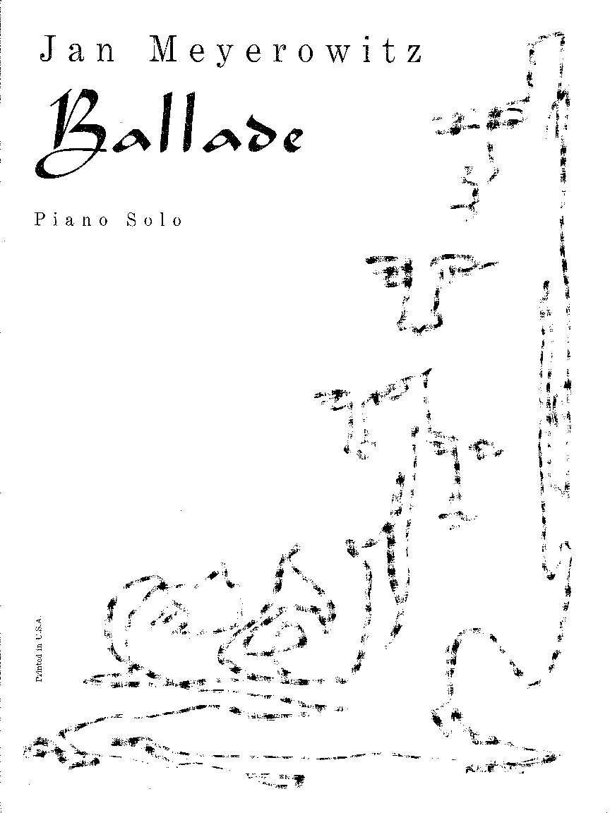 Ballade for Piano solo - Click Image to Close