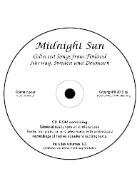 Midnight Sun (CD-ROM) IPA, texts & translations