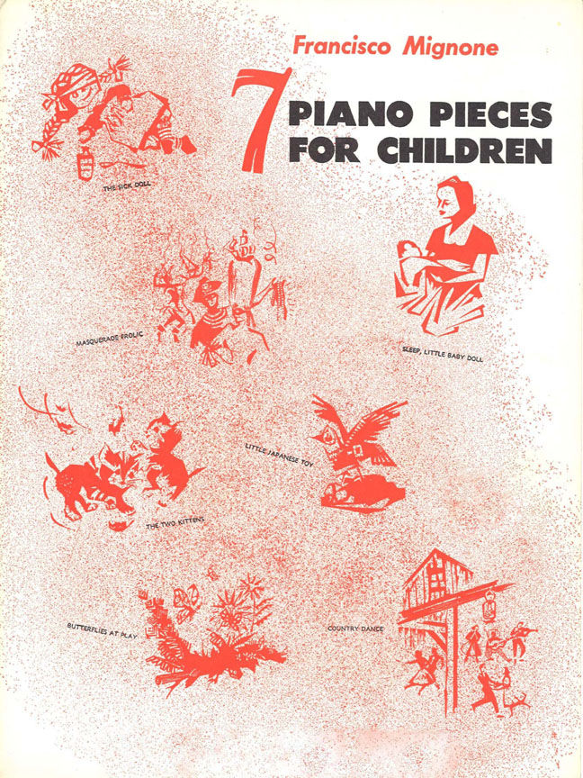 7 Piano Pieces for Children