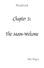 Moon-Welcome, The for treble choir a cappella