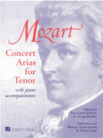 Concert Arias for Tenor for tenor & piano
