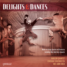 Delights and Dances [CD] - Click Image to Close