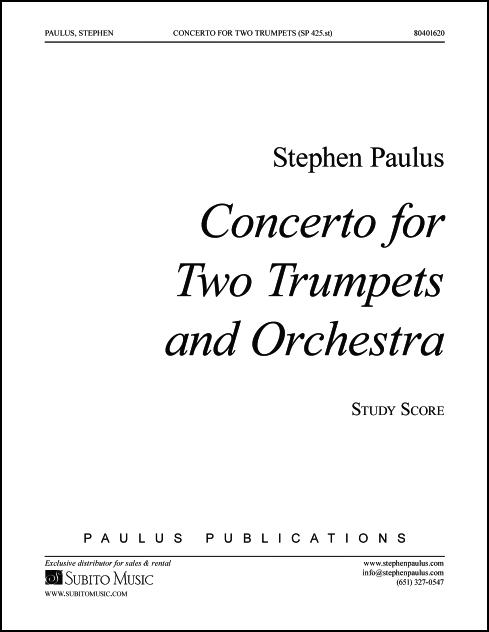 Concerto for Two Trumpets & Orchestra