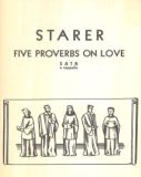 Five Proverbs on Love for SATB a cappella