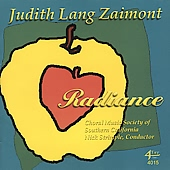 RADIANCE: Choral Music [CD]
