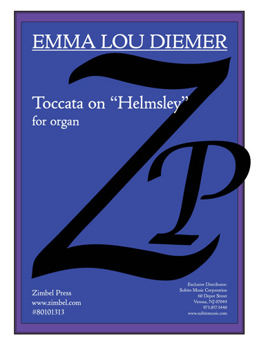 "Toccata on ""Helmsley"" for Organ"