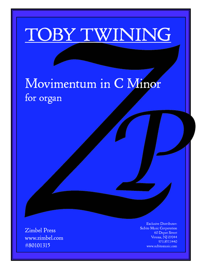 Movimentum in C Minor for Organ