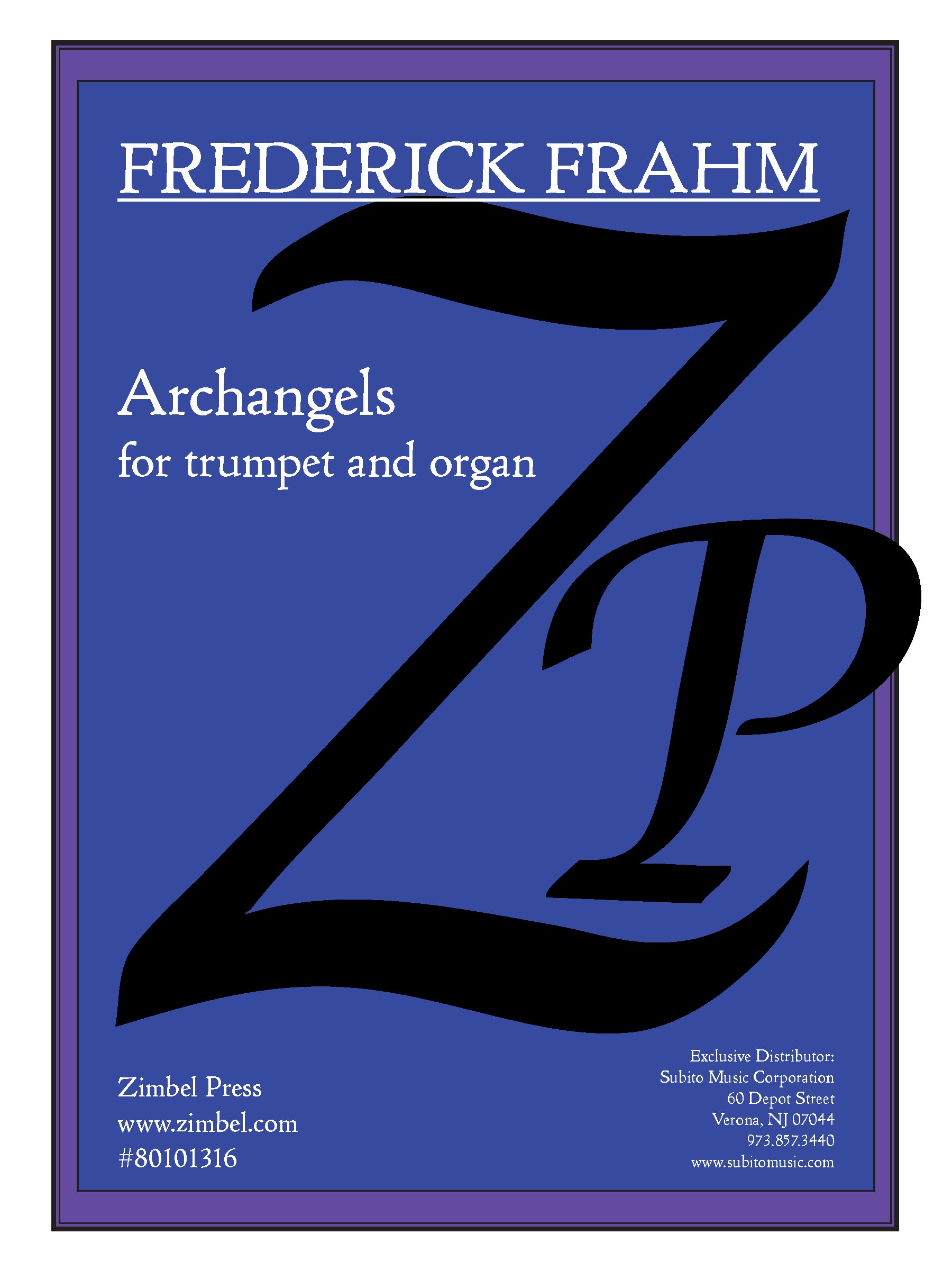 Archangels for Trumpet & Organ