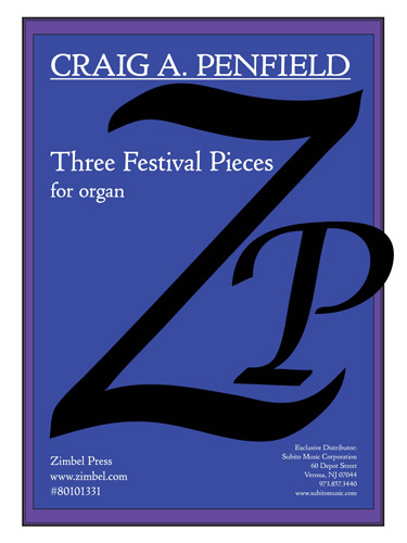 Three Festival Pieces for Organ