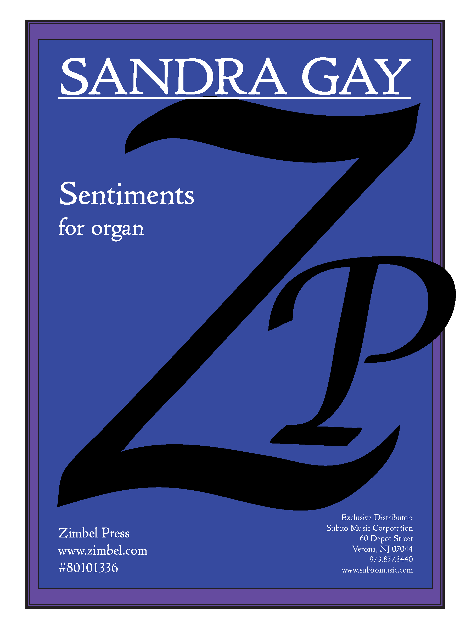 Sentiments for Organ