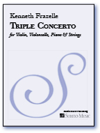 Triple Concerto for Solo Violin, Violoncello, Piano & String Orchestra