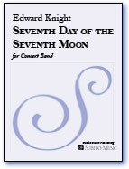Seventh Day of the Seventh Moon for Concert Band - Click Image to Close