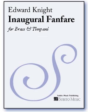 Inaugural Fanfare for Brass & Timpani