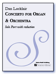 Concerto for Organ and Orchestra Organ Solo with Reduction