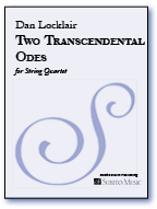 Two Transcendental Odes for string quartet