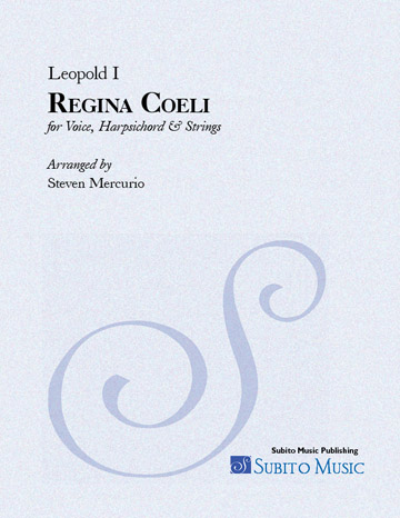 Regina Coeli (Leopold I) for Voice, Harpsichord & Strings