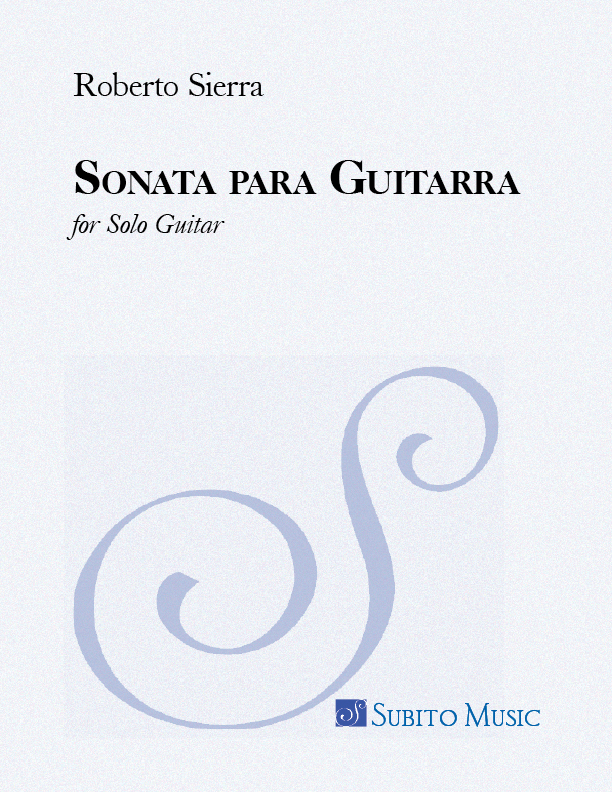 Sonata para Guitarra for Solo Guitar - Click Image to Close