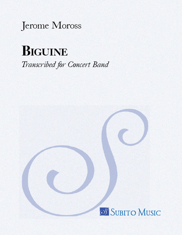Biguine for Concert Band , Transcribed by Dana Paul Perna
