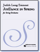 JoyDance in Spring for String Orchestra - Click Image to Close