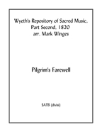 Pilgrim's Farewell for SATB choir (divisi)