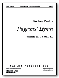 Pilgrims' Hymn (with 2 Marimbas) for 8-part Chorus & 2 Marimbas