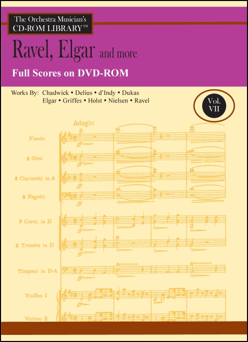 The Orchestra Musician's CD-ROM Library™, Volume 7 Full Scores [DVD-ROM]