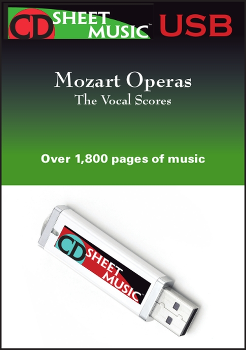 Mozart Operas: The Vocal Scores