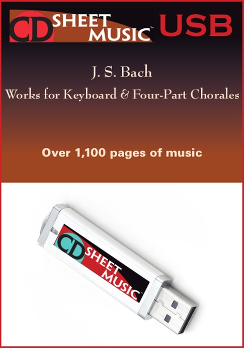 Bach: Works for Keyboard & Four-Part Chorales