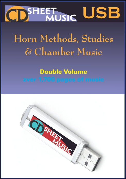 Horn Solos, Methods, Studies & Chamber Music for