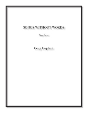 Songs Without Words for solo piano
