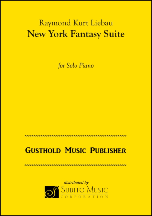New York Fantasy Suite for Solo Piano