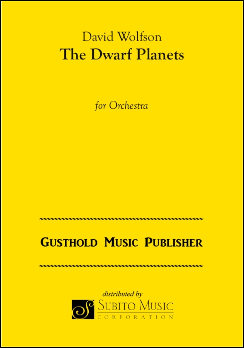Dwarf Planets, The for Orchestra