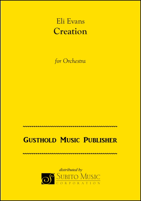 Creation for Orchestra - Click Image to Close