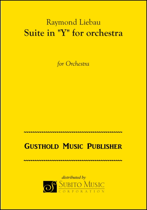 "Suite in ""Y"" for orchestra for Orchestra"