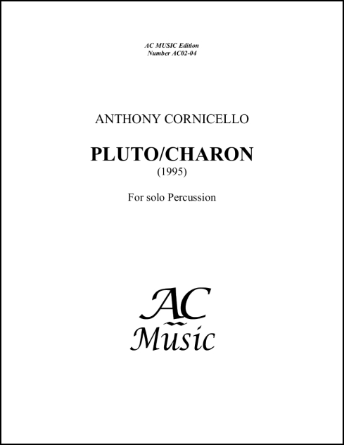 Pluto/Charon for Percussion