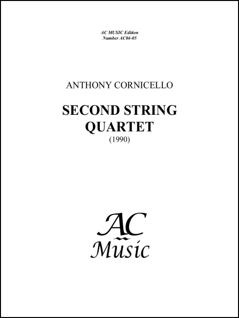 Second String Quartet - Click Image to Close