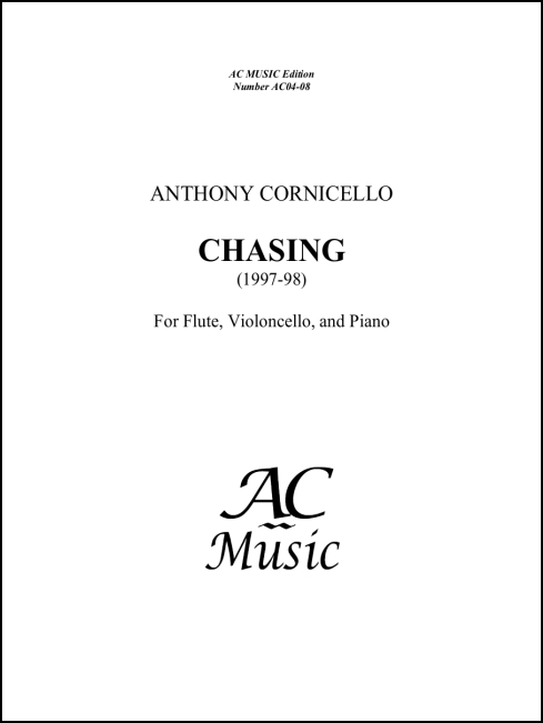 Chasing for Flute, Violoncello & Piano