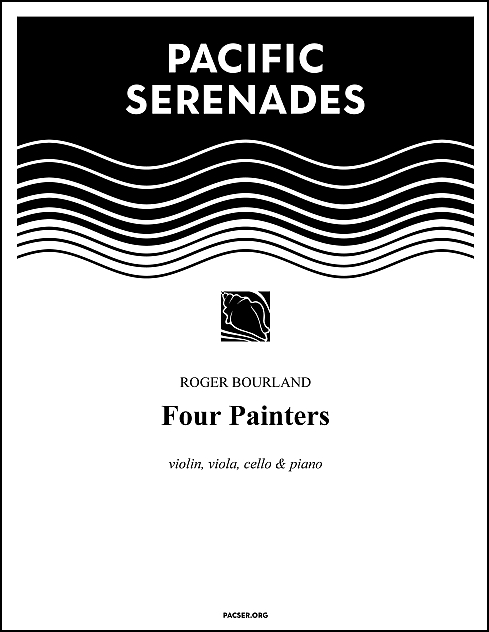 Four Painters for Violin, Viola, Violoncello & Piano
