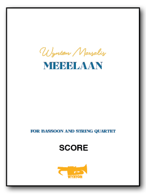 Meeelaan for Bassoon & String Quartet